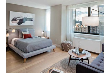 Contemporary Chelsea Studio Apartment With 1 Bath Featuring A Fitness  Facility And Rooftop Deck